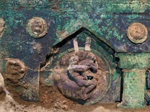 У Помпеях знайшли старовинну церемоніальну колісницю