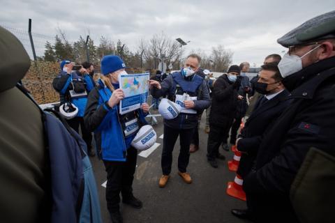 Володимир Зеленський і Шарль Мішель зустрілися з представниками міжнародних гуманітарних місій на Донбасі