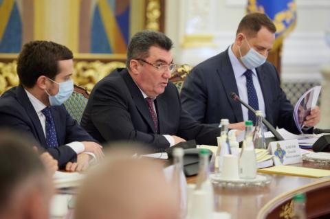 На засіданні РНБО під головуванням Володимира Зеленського розглянуто питання держоборонзамовлення на 2021 рік та націоналізації «Мотор Січі»
