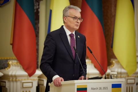 Стратегічне партнерство України та Литви є міцним і непорушним – Володимир Зеленський