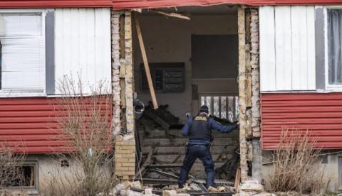 У Швеції евакуювали 40 квартир після потужного вибуху в під'їзді будинку