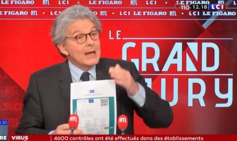 """""""Паспорт вакцинації"""" в ЄС почне діяти з 15 червня: єврокомісар представив документ"""