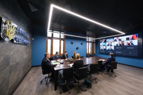 Відбулося XXIX засідання Консультаційного комітету Президентів України та Польщі у форматі відеоконференції
