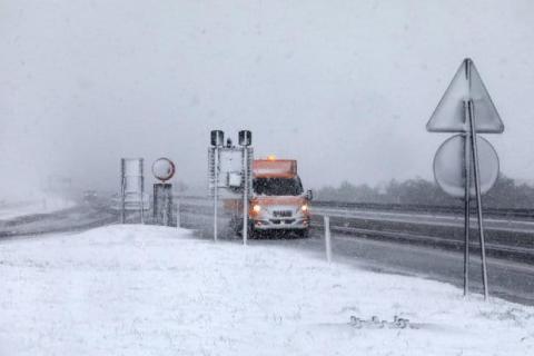 Хорватію засипало снігом