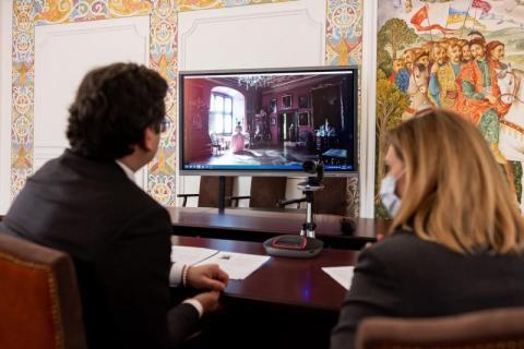 За ініціативою Олени Зеленської в Музеї національної історії Данії в замку Фредеріксборг запустили україномовний аудіогід