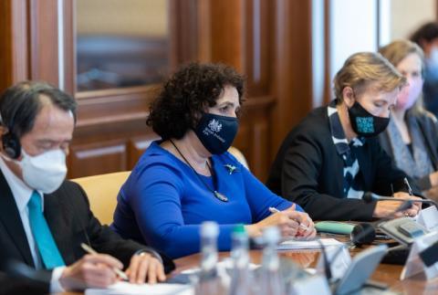 Андрій Єрмак обговорив з послами G7 перебіг переговорів щодо припинення війни на Донбасі, оновлення КСУ та низку важливих реформ в Україні