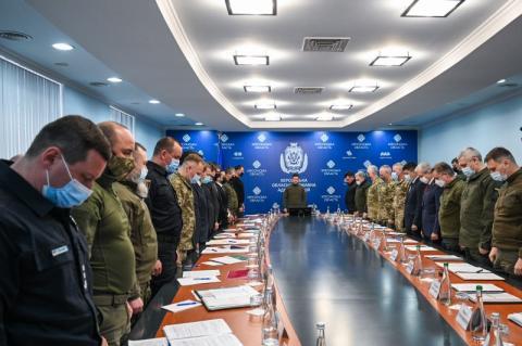 За результатами наради у Херсоні щодо безпекової ситуації Президент України доручив підготувати засідання РНБО