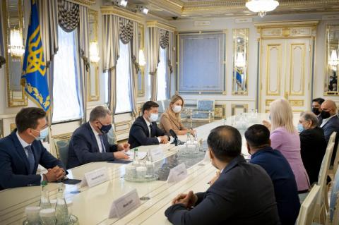 Президент України виступає за надання Індії гуманітарної допомоги через складну епідемічну ситуацію