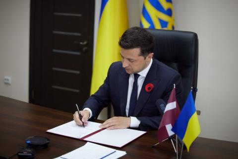 Президенти України та Латвії підписали спільну Декларацію про європейську перспективу України