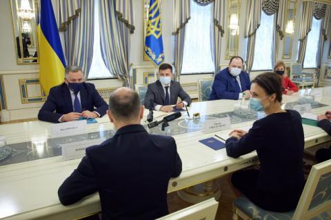 Глава держави зустрівся зі Спікером Сеймасу Литовської Республіки