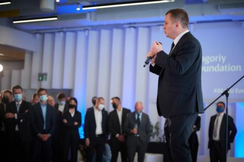Президент України взяв участь у відкритті нової будівлі Київської школи економіки