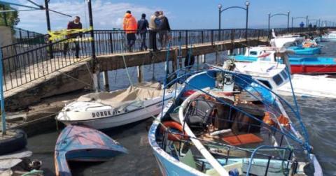 Західне узбережжя Туреччини постраждало від потужного шторму