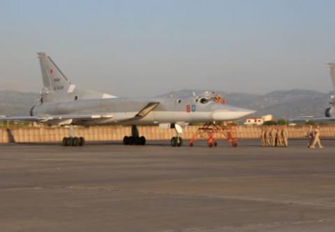 Росія вперше розмістила стратегічні бомбардувальники на авіабазі в Сирії