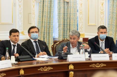 Президент провів нараду щодо стану справ в українському кінематографі, проблем та перспектив його розвитку
