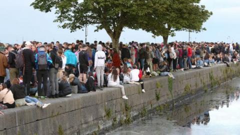У Дубліні погрожують обмежити вхід у популярні місця після натовпів у вихідні