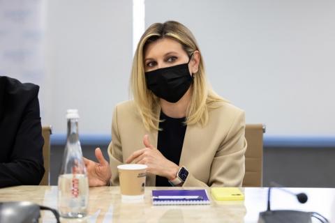 В аеропорту «Бориспіль» за участю першої леді Олени Зеленської відбулася зустріч-діалог щодо розвитку безбар'єрної інфраструктури
