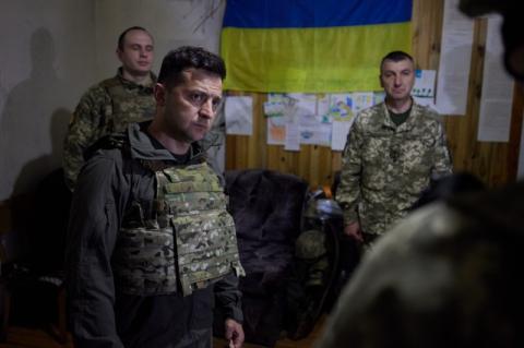Володимир Зеленський на передовій: Заряджаюсь і надихаюся героїзмом наших військових