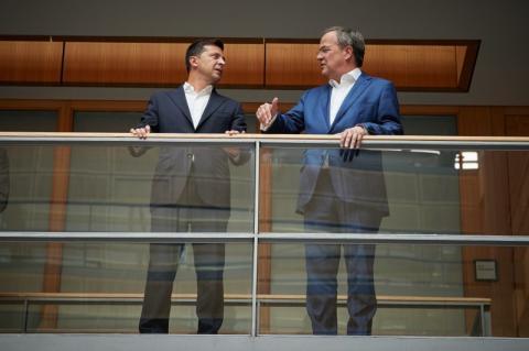 Президент України в Берліні зустрівся з Прем