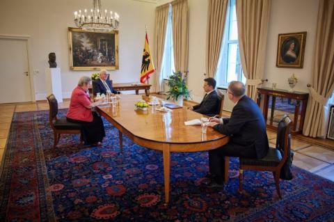 Президент Володимир Зеленський обговорив з Федеральним президентом Німеччини прогрес у втіленні реформ в Україні
