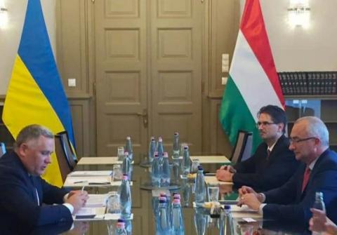 Ігор Жовква в Будапешті обговорив комплекс питань українсько-угорських відносин та міжнародного порядку денного