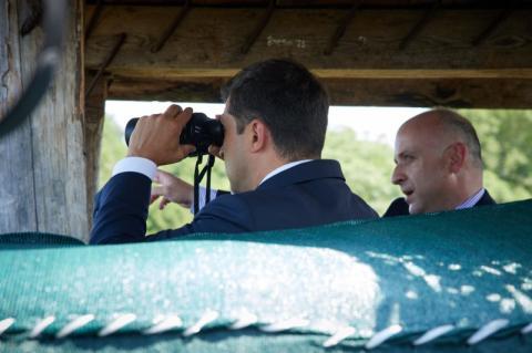 Президент ознайомився з безпековою ситуацією на межі з Абхазією