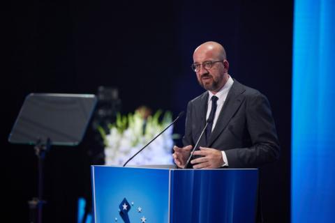 Володимир Зеленський: Україну, Грузію та Молдову об'єднує спільне прагнення членства в ЄС, і ціна за це – анексія, окупація та війна