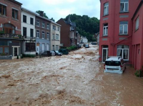 Бельгію накрила хвиля нових повеней