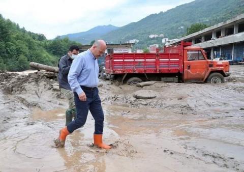 Чорноморські регіони Туреччини оголошені зонами стихійного лиха після повені