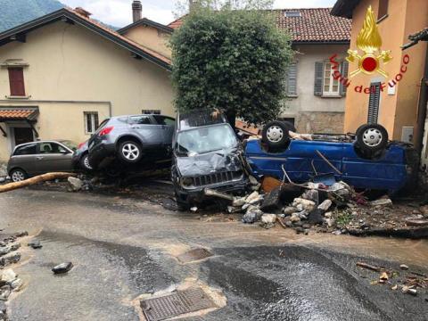 Район на півночі Італії постраждав від повені