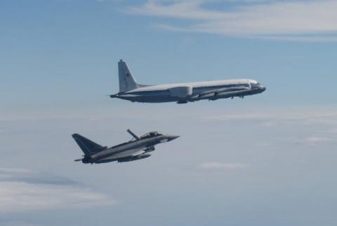 Винищувачі НАТО перехопили три російські літаки над Балтійським морем