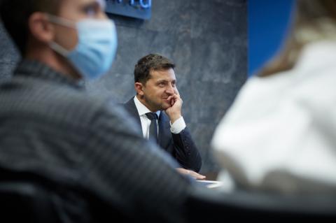 У Міжнародний день молоді Президент зустрівся з переможцями всеукраїнського конкурсу Ukraine NOW