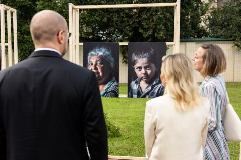 Олена Зеленська виступила на відкритті виставки фотомистецтва Photo Kyiv 2021