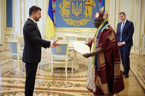 Президент прийняв вірчі грамоти у послів Ірландії, Нігерії, Кореї та Вірменії