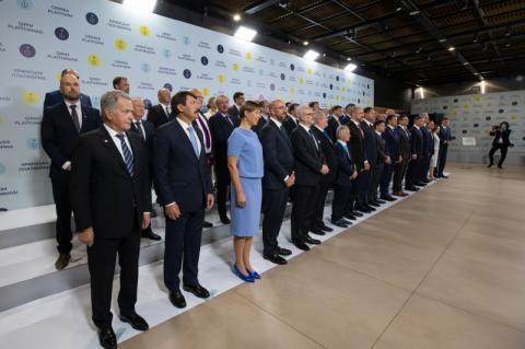 Президент України відкрив інавгураційний саміт Кримської платформи