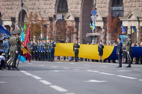 Промова Президента Володимира Зеленського з нагоди 30-ї річниці незалежності України