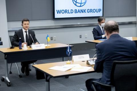 У Вашингтоні Президент України провів зустріч з президентом Групи Світового банку