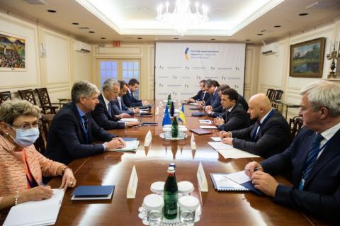 У Нью-Йорку відбулася зустріч Володимира Зеленського з Генеральним секретарем НАТО