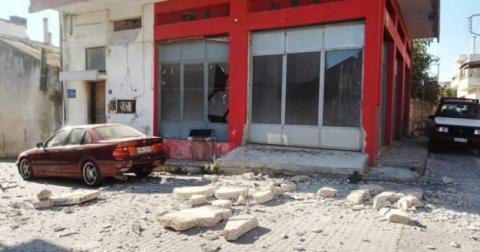 На Криті стався 6-бальний землетрус