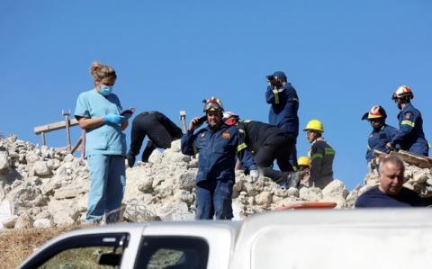 Внаслідок землетрусу на Криті загинула одна людина