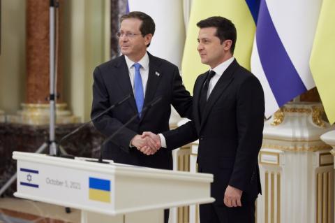 Володимир Зеленський: Україна та Ізраїль мають великий інвестиційний потенціал, зокрема у сфері інновацій, космосу, кібербезпеки, охорони здоров'я