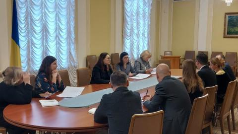 В Офісі Президента України відбулася зустріч з представниками Ради з питань конкуренції Румунії та проекту Євросоюзу SESAR