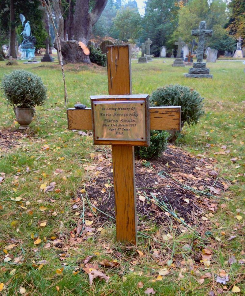 Венедиктов опублікував фотографію занедбаної могили Березовського