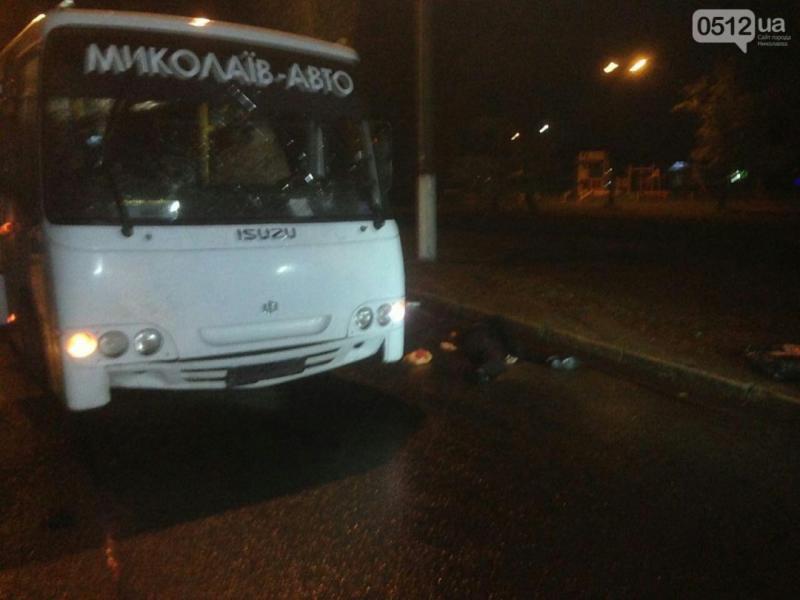 У Миколаєві автобус на смерть збив двох пішоходів