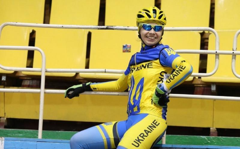 Львів'янка Тетяна Клімченко завоювала срібну нагороду Євро-2017 з велоспорту у скретчі