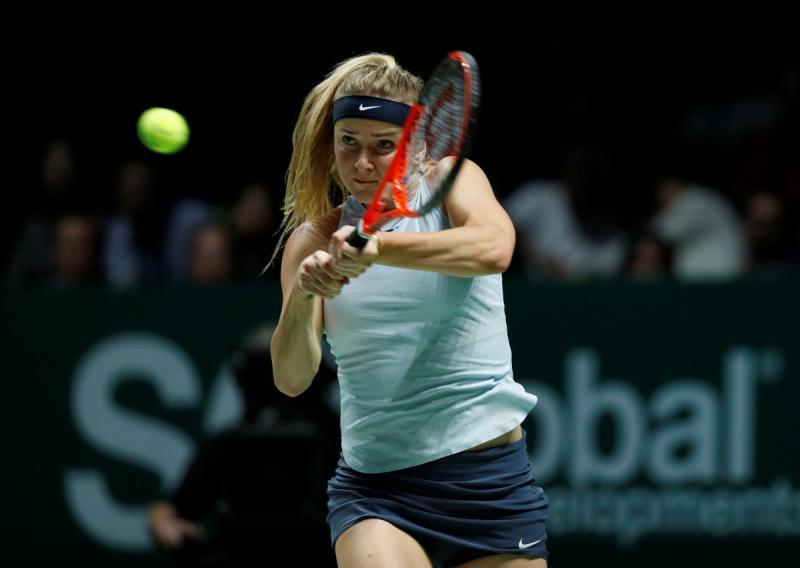 Еліна Світоліна з поразки розпочала Підсумковий тенісний турнір WTA 2017 року у Сінгапурі