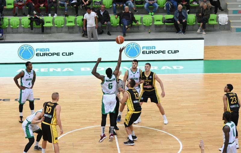 Зіграно перші матчі другого раунду кваліфікації баскетбольного Кубка Європи-ФІБА сезону-17/18