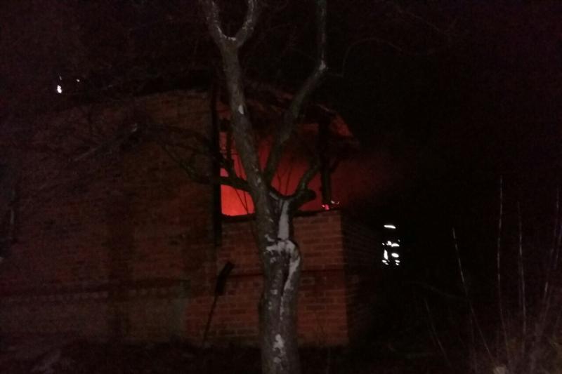 У Харківській області внаслідок пожежі в житловому будинку загинув чоловік