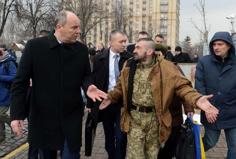 Голова Верховної Ради Андрій Парубій взяв участь у заходах, присвячених вшануванню пам'яті загиблих героїв Небесної Сотні