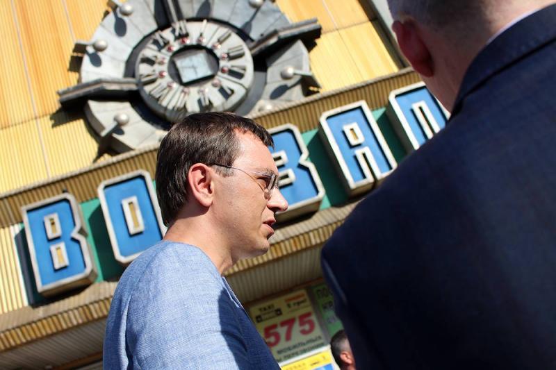 Я відверто незадоволений станом вокзалу в Миколаєві, - Володимир Омелян