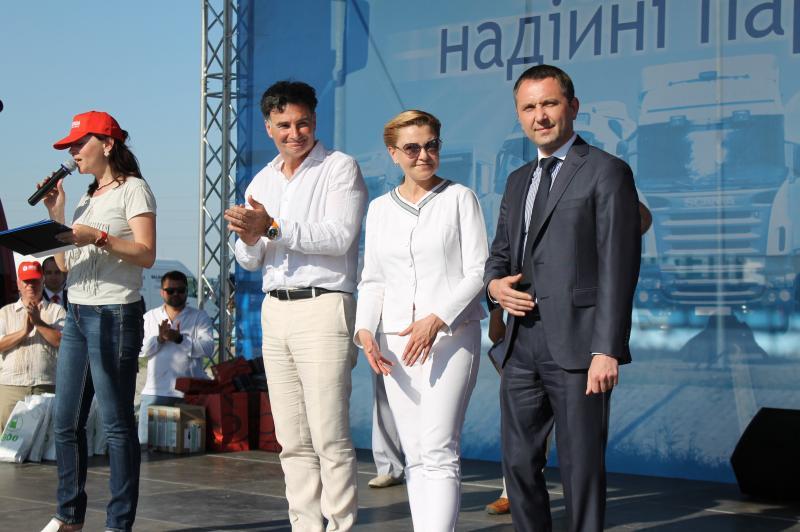 Юрій Лавренюк нагородив переможців Всеукраїнського конкурсу професійної майстерності водіїв